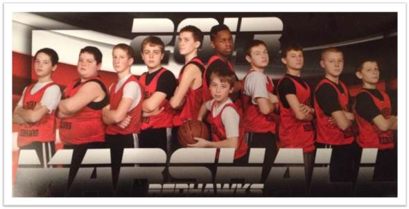 Marshall Redhawks Basketball 2013